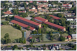 Aerial Photography of Gauteng College in Johannesburg