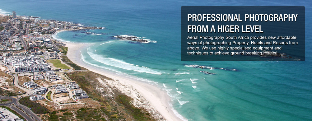 Aerial Photo taken of the West Coast of Cape Town in South Africa - by Aerial Photography