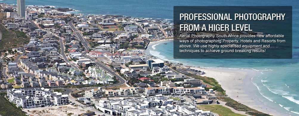 Aerial Photo of a Real Estate section in South Africa