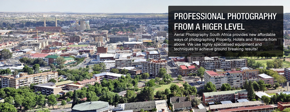 Day Photo of an Aerial Photography in Johannesburg